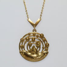 Load image into Gallery viewer, Planetary Orbits + Mountain Necklace