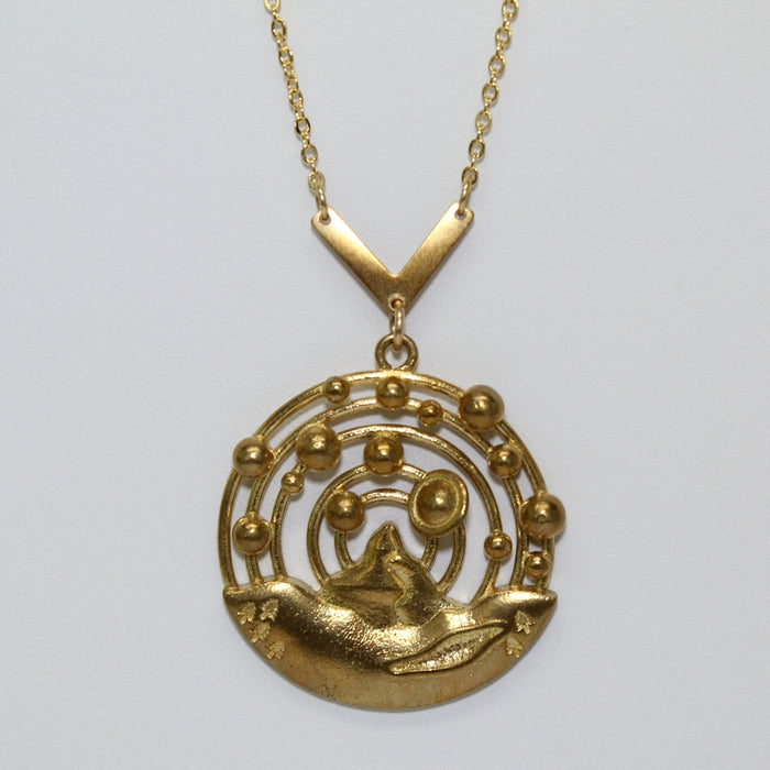 Planetary Orbits + Mountain Necklace