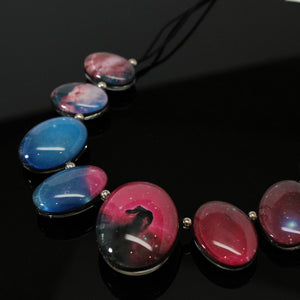 Orion & Horsehead Nebula Double-Sided Statement Necklace
