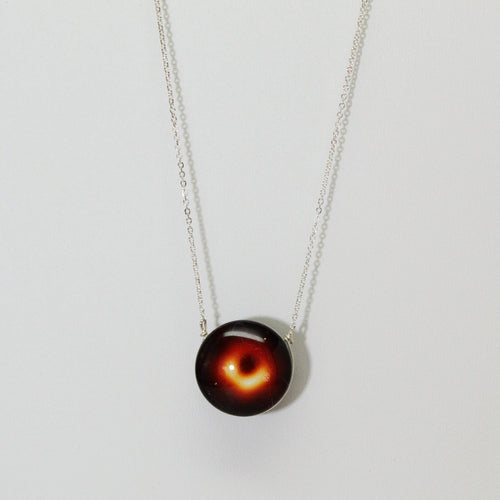 Black Hole Double-Sided Necklace