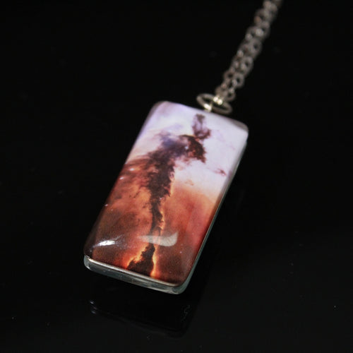 Eagle Nebula Double-Sided Necklace