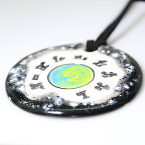 Drake Equation Ceramic Necklace