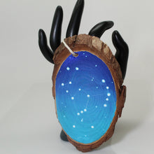 Load image into Gallery viewer, Hand Painted Orion Galaxy Wooden Ornament