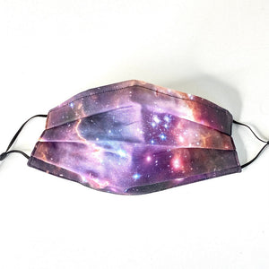 NGC 602 Star Formation Pleated Cotton Face Mask