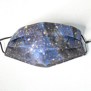 Pillars in Infrared Star Formation Pleated Cotton Face Mask