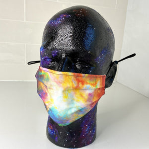 Orion Nebula Star Formation Pleated Cotton Face Mask