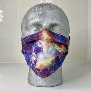 Tarantula Nebula Star Formation Pleated Cotton Face Mask