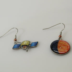 Mercury + Messenger Recycled Paper Earrings