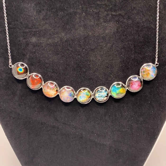 Nebula Images Curved Necklace