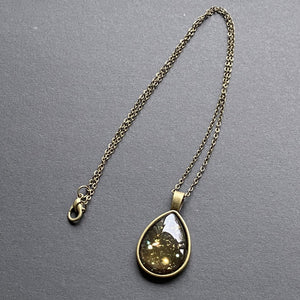 Hubble Deep Field Teardrop Pendant Necklace
