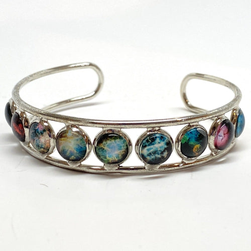 Nebula Images Adjustable Cuff Bracelet