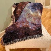 Load image into Gallery viewer, Nebula Image Woven Throw Blanket