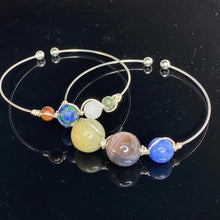 Load image into Gallery viewer, Solar System Planets Bangle Bracelets