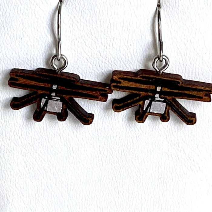 Ingenuity Helicopter Earrings