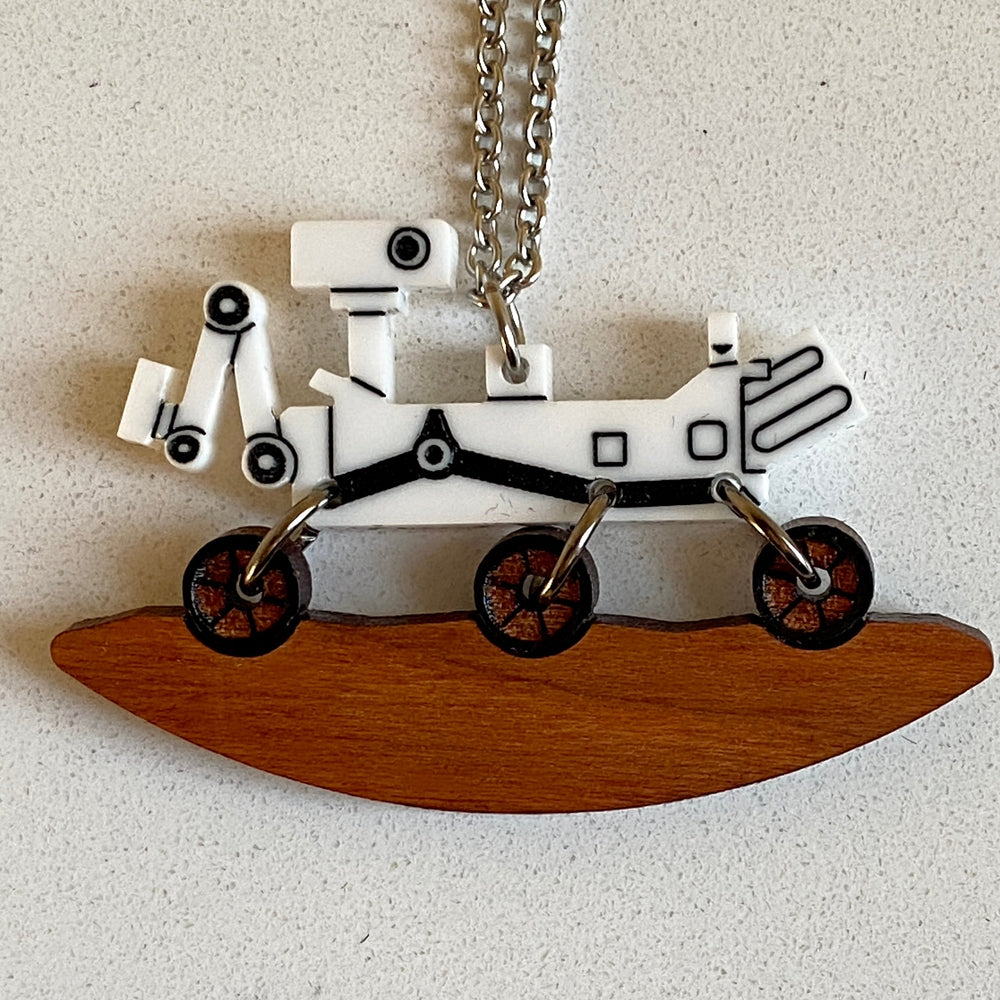 Mars Rover Necklace