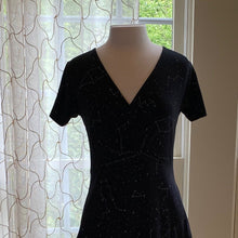 Load image into Gallery viewer, Constellation Wrap Dress