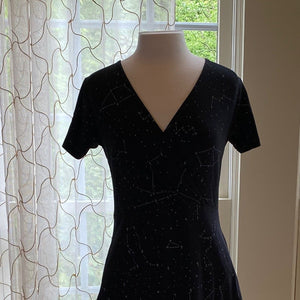 Constellation Wrap Dress