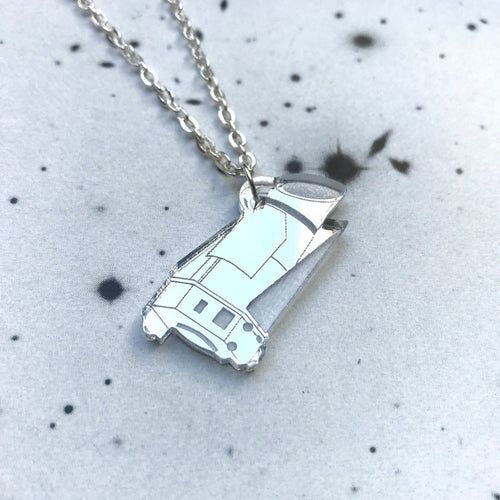 Kepler Space Telescope Acrylic Necklace