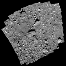 Load image into Gallery viewer, OSIRIS-REx image mosaic of the Nighingale landing site