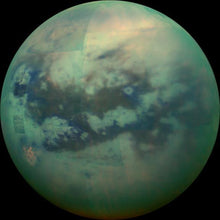 Load image into Gallery viewer, Titan Saturn's Moon Vintage Necklace