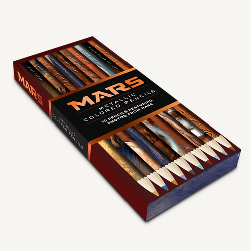 Mars Image Metallic Colored Pencils