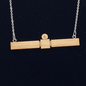 Rosetta Spacecraft Necklace
