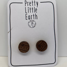 Load image into Gallery viewer, Jupiter Wood Earrings
