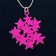 Load image into Gallery viewer, Star Cluster 3D Printed Necklace