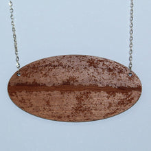 Load image into Gallery viewer, Cosmic Microwave Background Wood Necklace