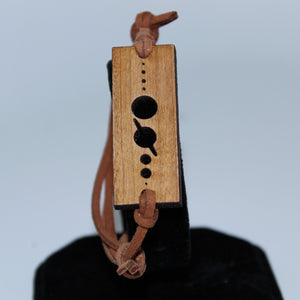 Planets Size Scale Wood Bracelet