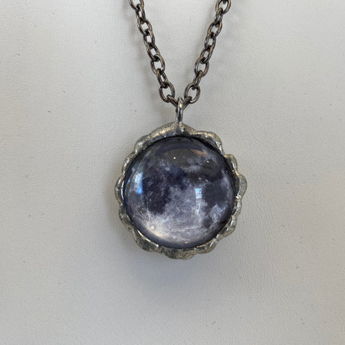 Moon Double-Sided Necklace