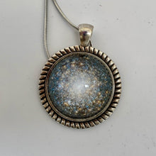 Load image into Gallery viewer, M13 Globular Cluster Domed Pedant Necklace