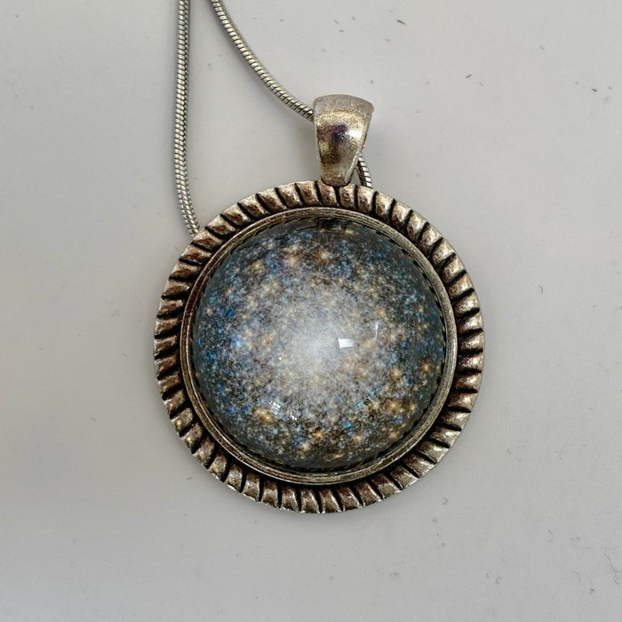M13 Globular Cluster Domed Pedant Necklace