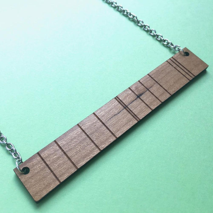 Spectrum Wood Necklace