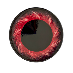 Black Hole Hand-Painted Ceramic Plate