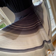 Load image into Gallery viewer, Saturn's Rings Knee-Length Twirl Skirt