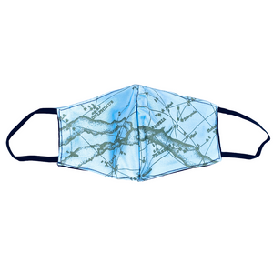 Northern Constellations & Milky Way Fitted Face Mask