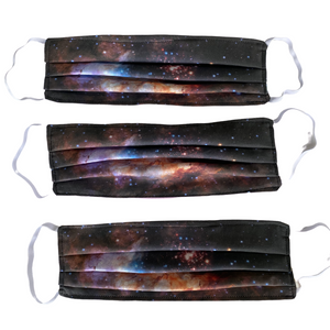 Nebula Image Cotton Handmade Face Masks