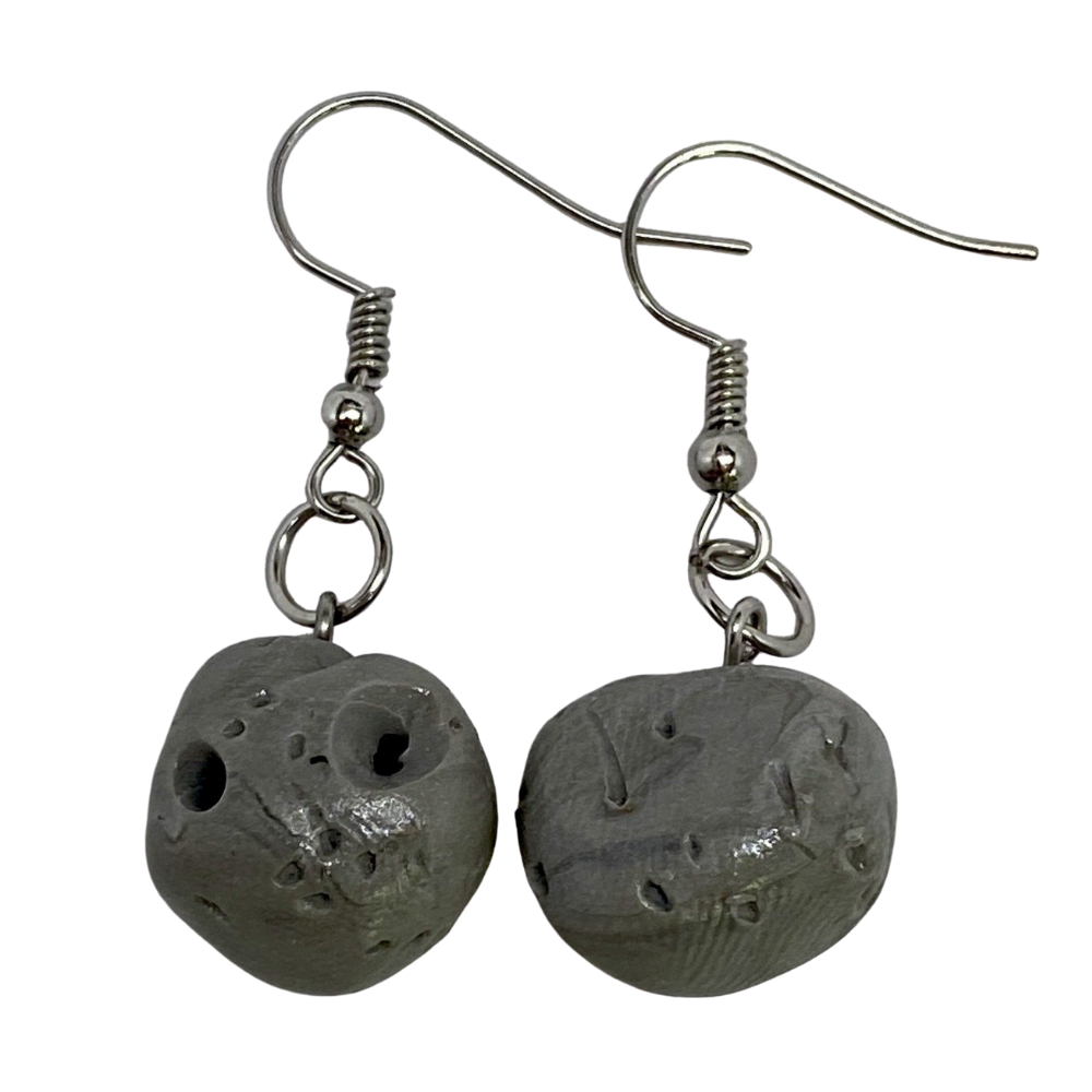 Psyche Dangle Clay Earrings