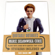 Load image into Gallery viewer, Marie Sklodowka Curie Notecard