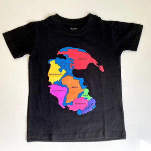Pangea Earth Kids T-Shirt