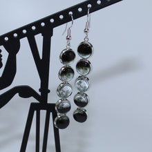 Load image into Gallery viewer, Moon Phases Drop Earrings