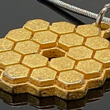 Load image into Gallery viewer, James Webb Space Telescope 3D Printed Metal Necklace