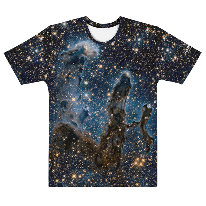 Pillars of Creation in Infrared by Hubble Straight Cut T-Shirt