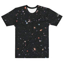Load image into Gallery viewer, Hubble eXtreme Deep Field Straight Cut T-Shirt