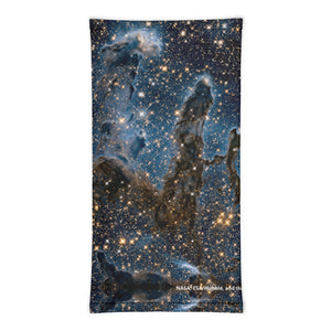 Pillars in Infrared All-Over Print Gaiter