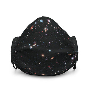 Hubble eXtreme Deep Field Face Mask