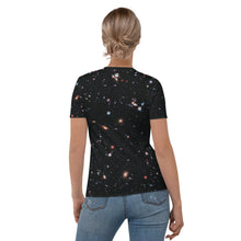 Load image into Gallery viewer, Hubble eXtreme Deep Field Fitted T-Shirt