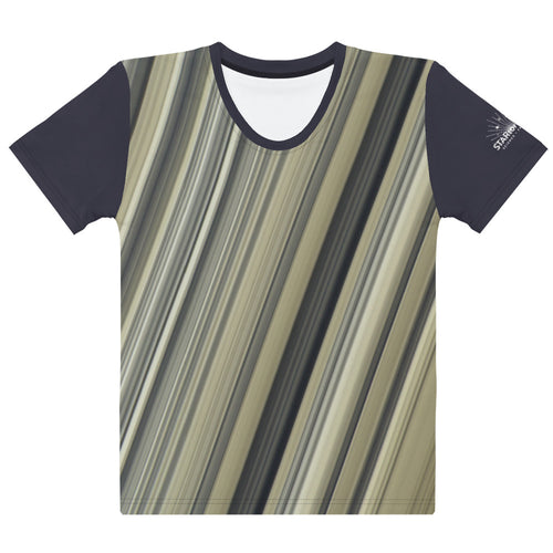 Saturn's Rings Fitted T-Shirt