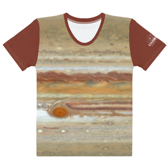 Jupiter by Hubble Fitted T-Shirt